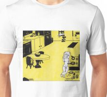 Solitude in Yellow Unisex T-Shirt