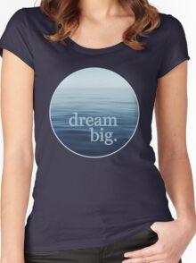 Open Blue Sea Women's Fitted Scoop T-Shirt