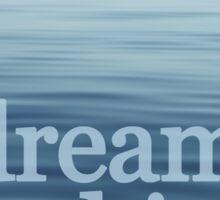 Open Blue Sea Sticker