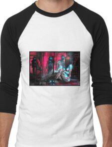 Cyberpunk Painting 071 Men's Baseball ¾ T-Shirt