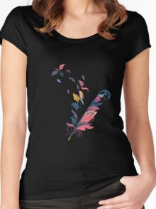 Quill Women's Fitted Scoop T-Shirt