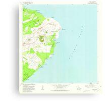 USGS TOPO Map Hawaii HI Kapoho 349385 1981 24000 Metal Print