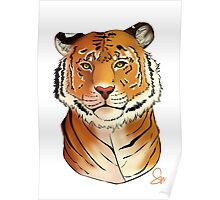 The Tiger - Bust Poster