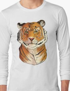 The Tiger - Bust Long Sleeve T-Shirt
