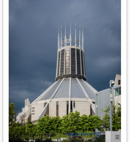 Metropolitan Cathedral, Liverpool, UK Sticker