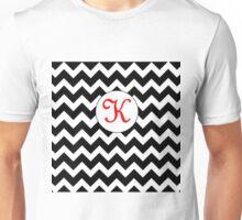 Red K Chevron Unisex T-Shirt