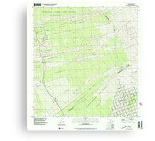USGS TOPO Map Hawaii HI Papa 349650 1995 24000 Canvas Print