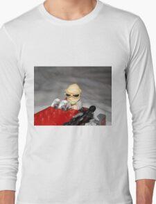 Lego Rey on her Speeder Long Sleeve T-Shirt
