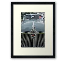 Rover 80 Classic Car Grill and Badge  Framed Print