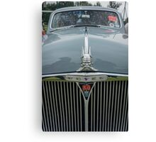 Rover 80 Classic Car Grill and Badge  Canvas Print