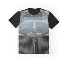 Rover 80 Classic Car Grill and Badge  Graphic T-Shirt