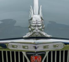 Rover 80 Classic Car Grill and Badge  Sticker