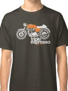 Triple Espressoo Laverda 3CE Cafe Racer Classic T-Shirt