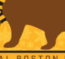 Boston tailgate  Sticker