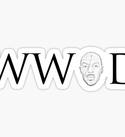 What Would Omar Do Sticker