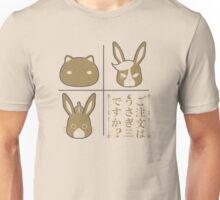 Gochiusa Triplet Mascot Unisex T-Shirt