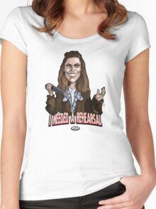 Buffy St. John Women's Fitted Scoop T-Shirt