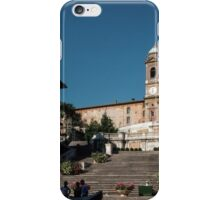 Spanish Steps Rome Italy 19840717 0006 iPhone Case/Skin