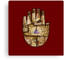 Bill Cipher Journal Cover Canvas Print