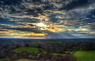 Glastonbury Tor Sunset by Nigel Bangert
