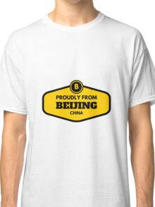 Proudly From Beijing China Classic T-Shirt