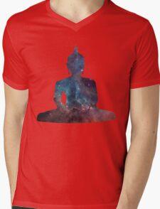 Buddha Nebula Mens V-Neck T-Shirt