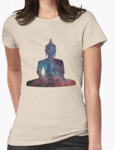 Buddha Nebula Womens Fitted T-Shirt