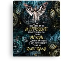 Infernal Devices - Easy Road Canvas Print