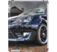 Black Ford Fiesta HDR iPad Case/Skin