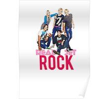 Ready Set Rock T-Shirt Poster
