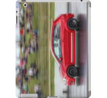 Red Fiesta ST on the Track iPad Case/Skin
