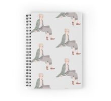 Sleepy Dane Spiral Notebook