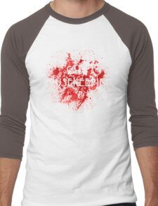 American Horror Story Hotel || Call Housekeeping Men's Baseball ¾ T-Shirt