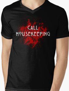 American Horror Story Hotel    Call Housekeeping Mens V-Neck T-Shirt