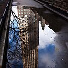 Chicago puddles by Craig Higson-Smith