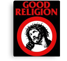 Good Religion (Jesus) Canvas Print