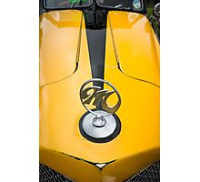 Madison Kit Car Badge and Bonnet Photographic Print