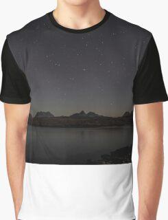 Assynt Night Sky Graphic T-Shirt