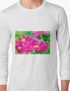 Pink Touch Long Sleeve T-Shirt