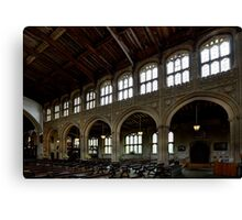 Inside of St Peter and Paul's church in Lavenham 3 Canvas Print