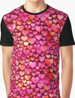 Hearts 03 Graphic T-Shirt