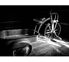 Tricycle Vintage Photographic Print