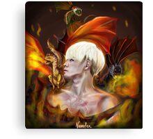 BTS Suga x Game of Thrones (Targaryen) Canvas Print