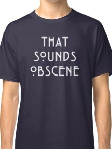American horror Story Hotel || Obscene Classic T-Shirt
