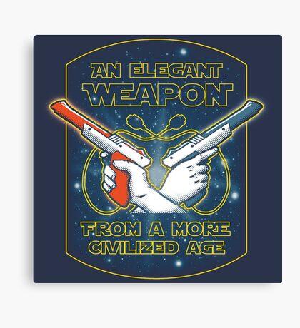 Elegant Weapon Canvas Print