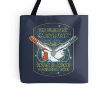 Elegant Weapon Tote Bag