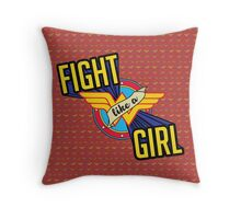 LIKE A GIRL Throw Pillow