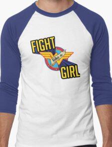 LIKE A GIRL Men's Baseball ¾ T-Shirt