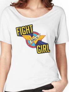 LIKE A GIRL Women's Relaxed Fit T-Shirt