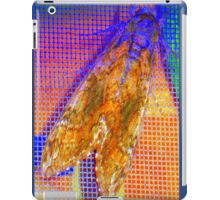Moth on screen iPad Case/Skin